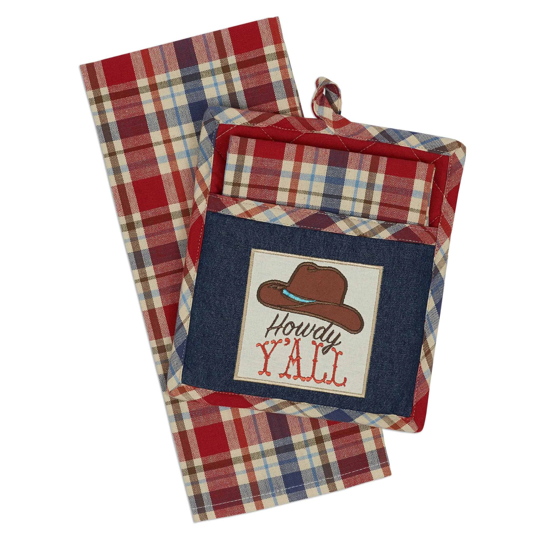 Willhowdy Home: Howdy Yall Potholder Gift Set